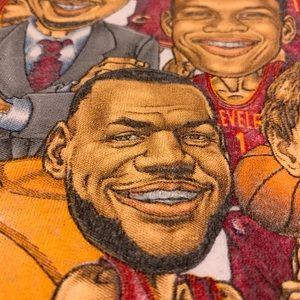 2016 Cleveland Cavaliers NBA Champions Tee.